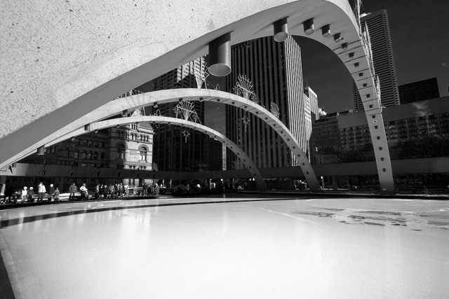 Nathan Philips Square Arches